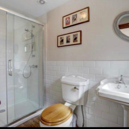 Downstairs showeroom